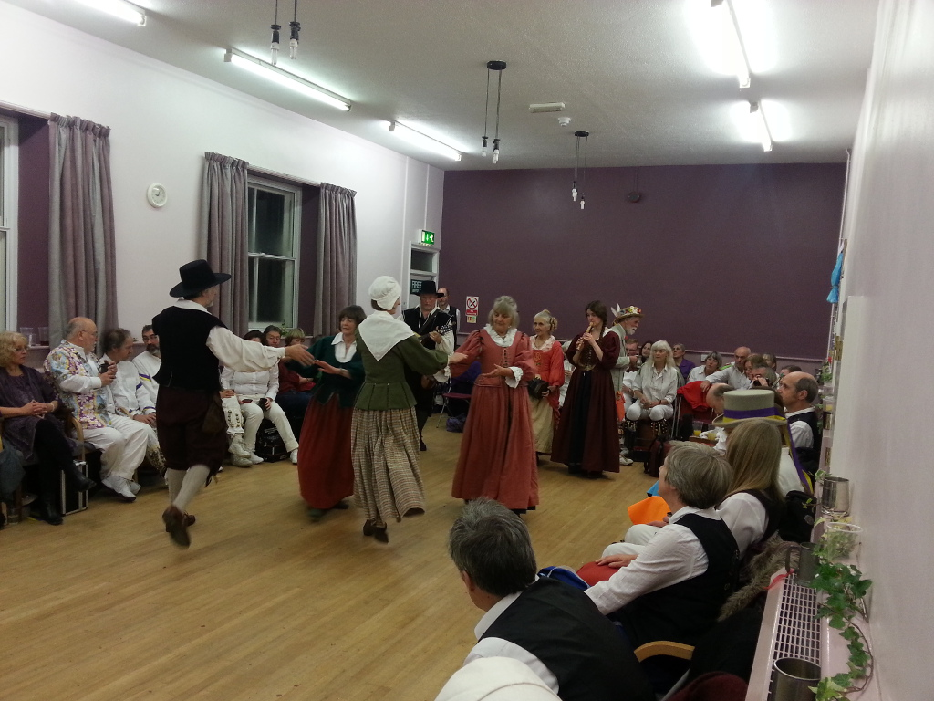 Vale Islanders dance at the Ducklington Ale