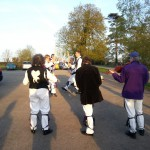 Dancing for St George at the Eight Bells
