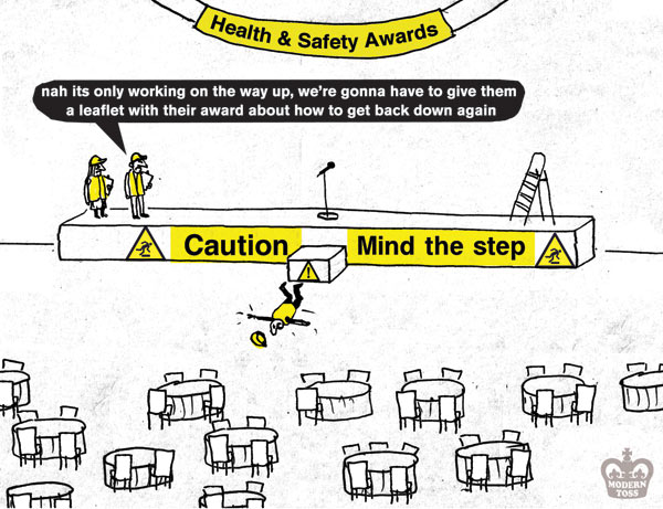Modern toss - health and safety awards