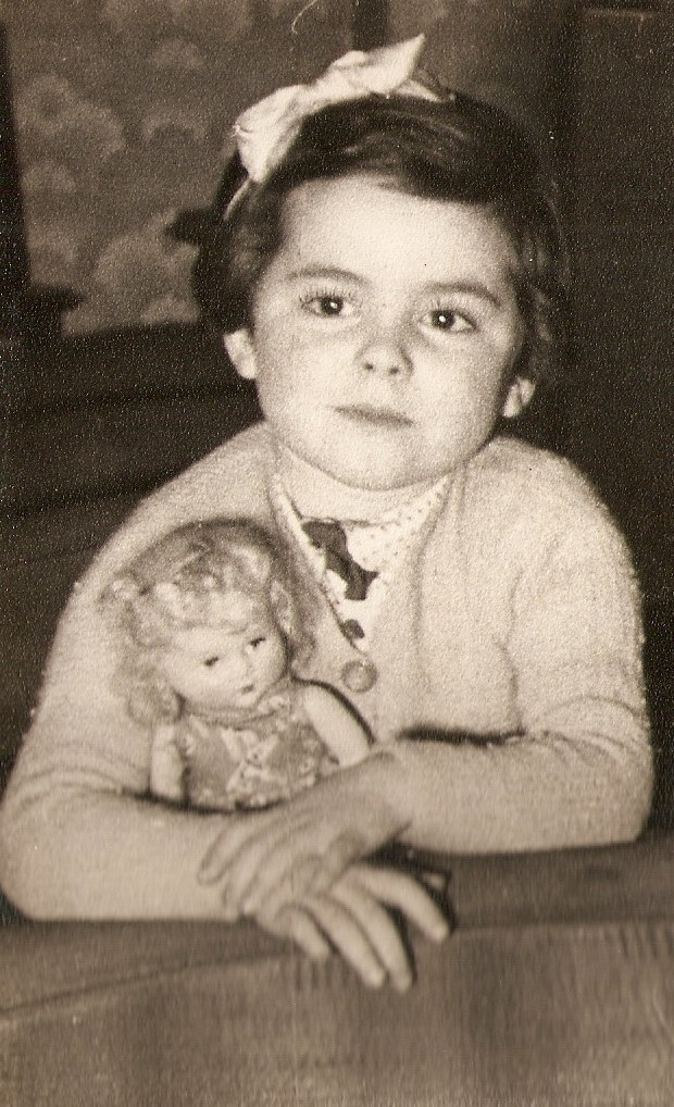 audrey and doll
