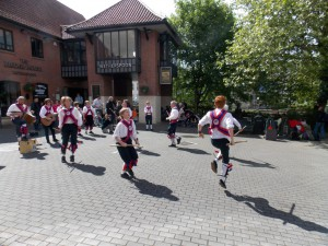 Ditchling Morris at Chippenham.