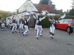 Dancing 'Sidesteps' at the Eight Bells, Eaton.