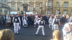 Dancing Banbury Bill in Broad Street